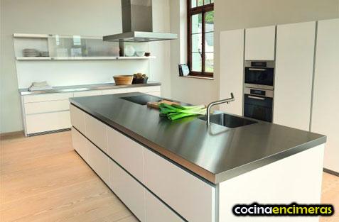 Encimeras de acero inoxidable encimera al mejor precio - Precios encimeras de cocina ...